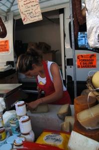 cheese girl