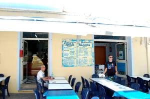 tavola azzurra